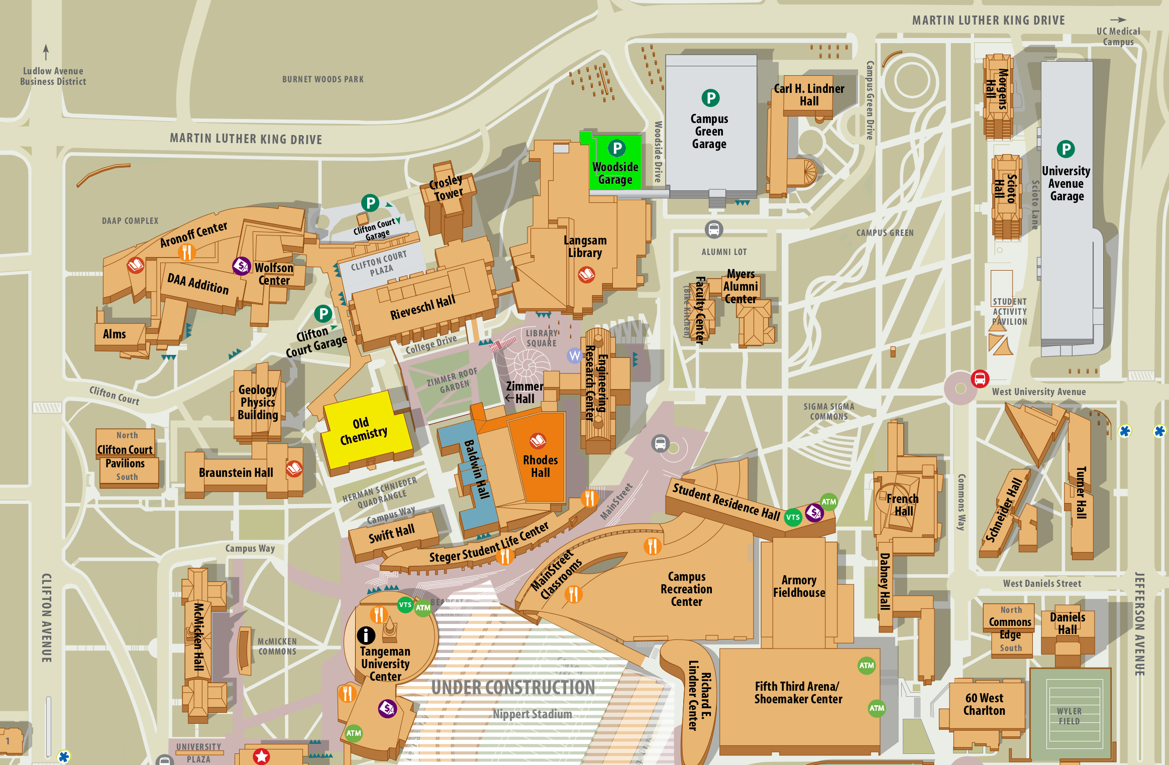 university of cincinnati west campus map Uc West Campus Map Ecna Icpc 2019