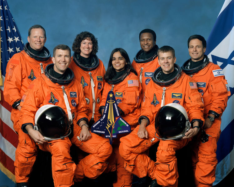 space shuttle columbia disaster. While Columbia was still in